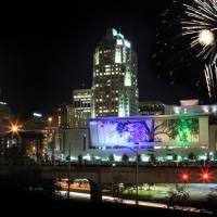 Raleigh_Down town, July 4th