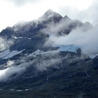 Glacier mist
